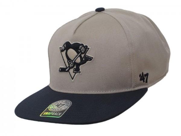 "47 Brand - NHL Cap Basecap Kappe Mütze Eishockey ""Pittsburgh Penguins"" (Nr. 56)"