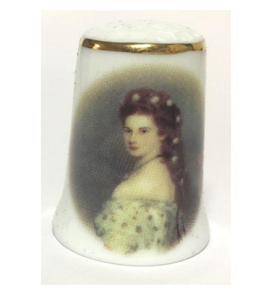 """Reutter Porzellan Miniaturen - Fingerhut """"Sisi"""" (702.244/0)"""