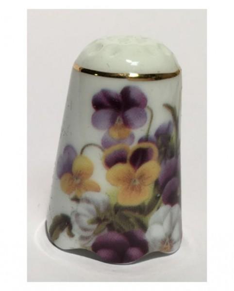 """Reutter Porzellan Miniaturen - Fingerhut """"Sammelblumen"""" Motiv 2 (3.256/1)"""