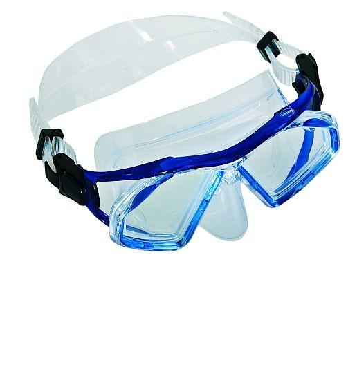 Fashy - Tauchermaske, Taucherbrille, blau, Orca 8834