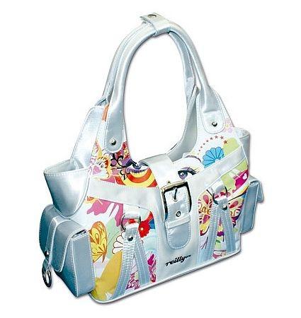Reilly - Handtasche Tasche, Rainbow Face weiß 10437400