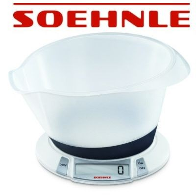 "Soehnle - Küchenwaage, Waage digital ""Olympia Plus"""