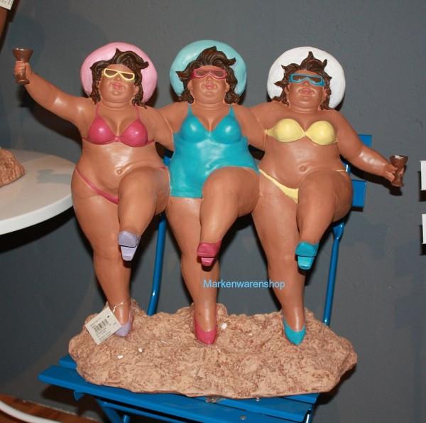 "Cor Mulder - Deko Figur ""Beach - Lady - Trio"" Dame Damen Sexy (66566)"