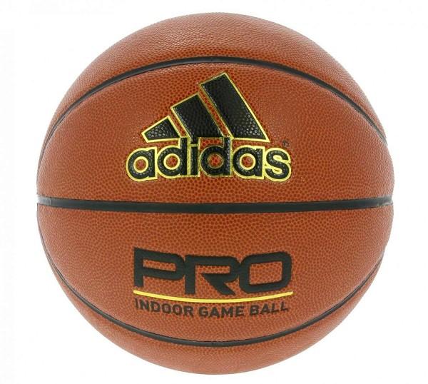 Adidas - New Pro W Basket-Ball Indoor-Basketball Gr.6 Orange W50045