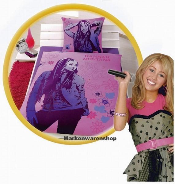 Disney Bettwäsche Hannah Montana 4016161263419