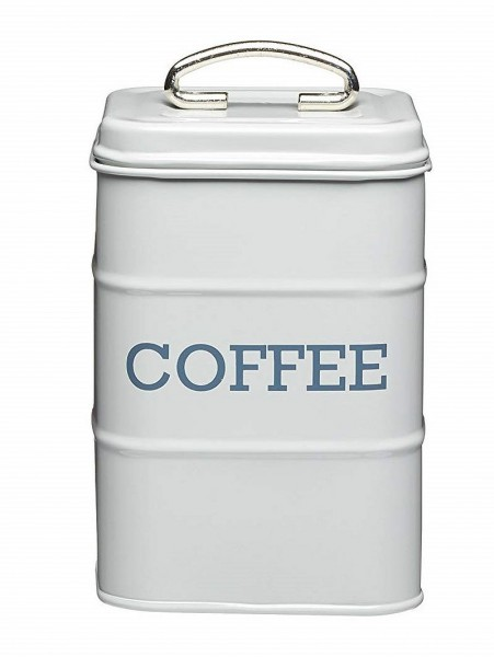 KitchenCraft - Kaffeedose Vorratsdose Vorratsbehälter grau LNCOFFEEGRY