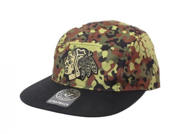 "47 Brand - NHL Cap Basecap Kappe Mütze Eishockey ""Chicago Blackhawks"" (Nr. 40)"