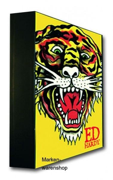 Ed Hardy, Licht Box Leuchte Wandlicht Lampe Deko, Tiger