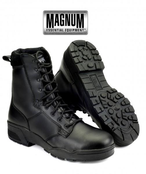Hi-TEC Magnum 11902 Protector S3 ST Black Boots Leder Security Stiefel Gr 40