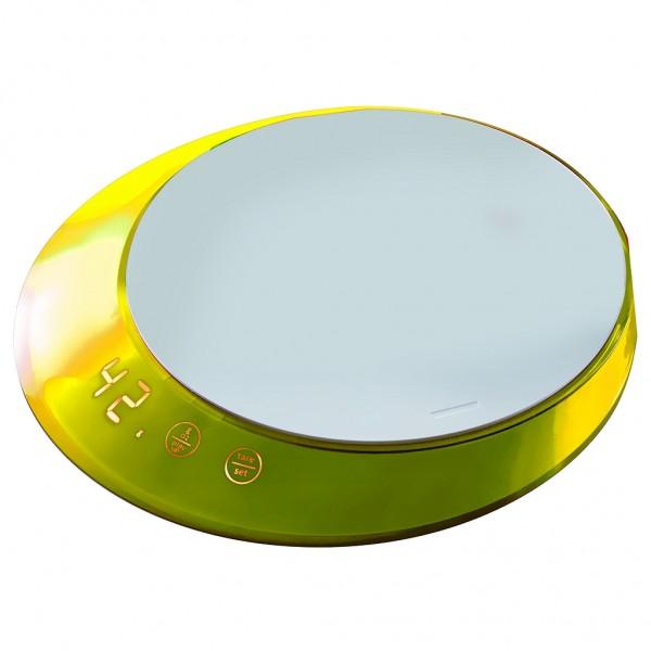Casa Bugatti - Küchenwaage digital, Waage, gelb