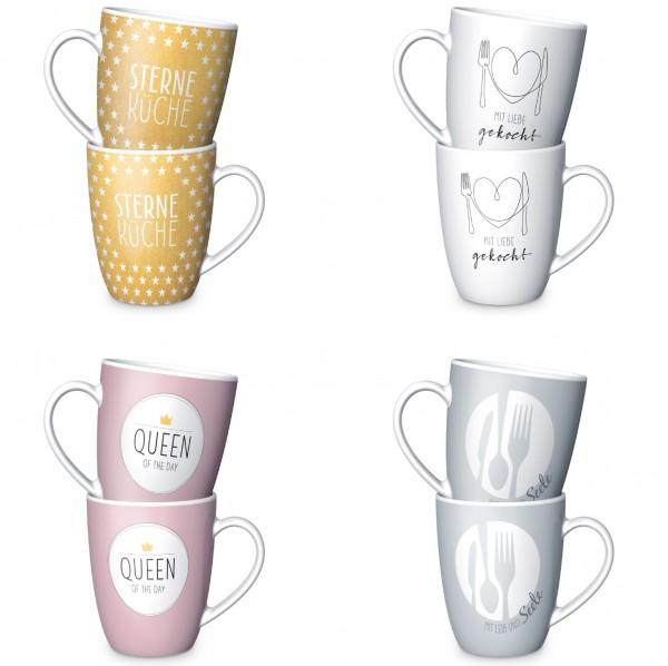 """Auswahl La Vida Kaffeetasse Kaffeebecher Tee Kakao Tasse """"Kitchen"""""""