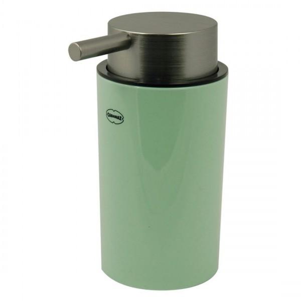 Cabanaz - Pump-Seifenspender Grün 250ml Rund 1201461 Seifenhalter Seifenspender