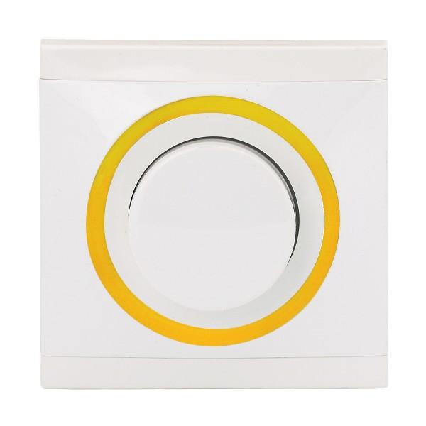 REV Ascoli weiß/gelb Helligkeitsregler NV 500 VA 929104 Lichtschalter Dimmer