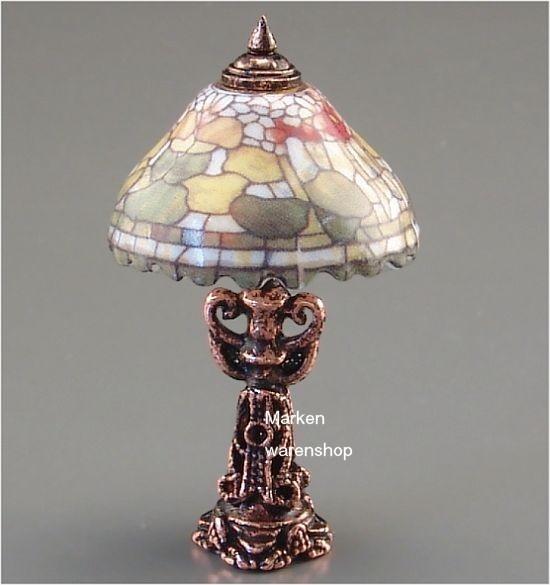 Reutter Porzellan Miniaturen - Tiffany Lampe (1.882/8) Miniaturenlampe
