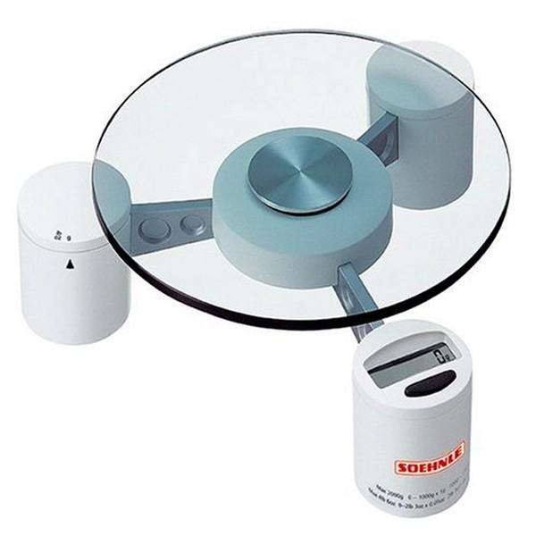 Soehnle Digitale Küchenwaage Triple Weiß 66705