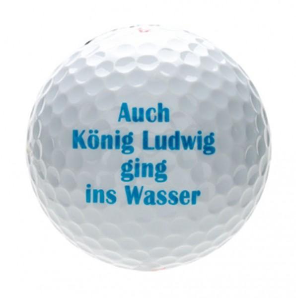 """Karwen - Magnum Tour Design Golfball """"KÖNIG-LUDWIG-WASSER"""" B99-28 Golf Bälle"""