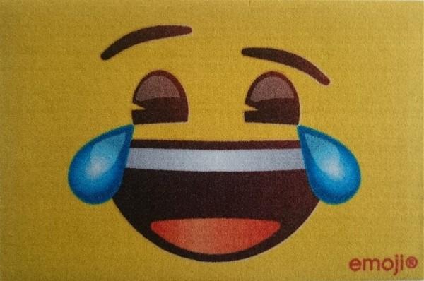 "Rockbites - Fußmatte ""Emoji - LOL"" Türmatte Fußabstreifer (100922) Nr.115"